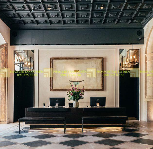 Thiết kế nội thất phong cách cổ điển trường phái ấn tượng