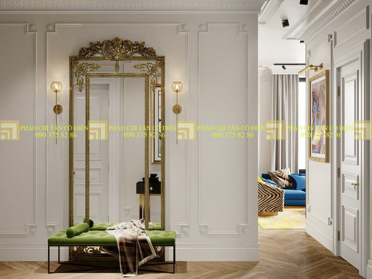 Phào, chỉ pu thay thế phào thạch cao trong trang trí nội thất