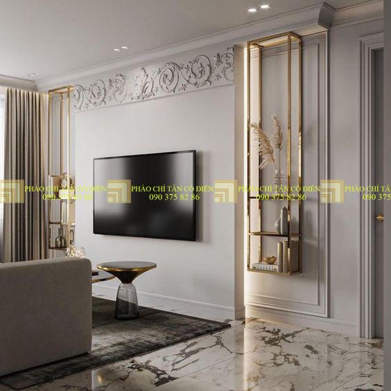 Thi công thiết kế nội thất phòng khách biệt thự - Những điều cần chú ý