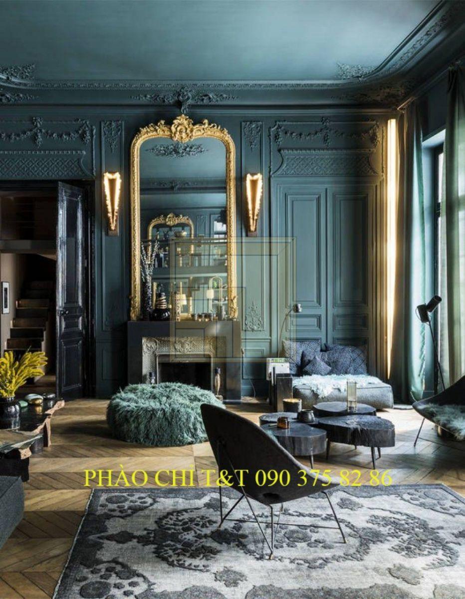 Thiết kế nội thất phong cách cổ điển trường phái ấn tượng 1