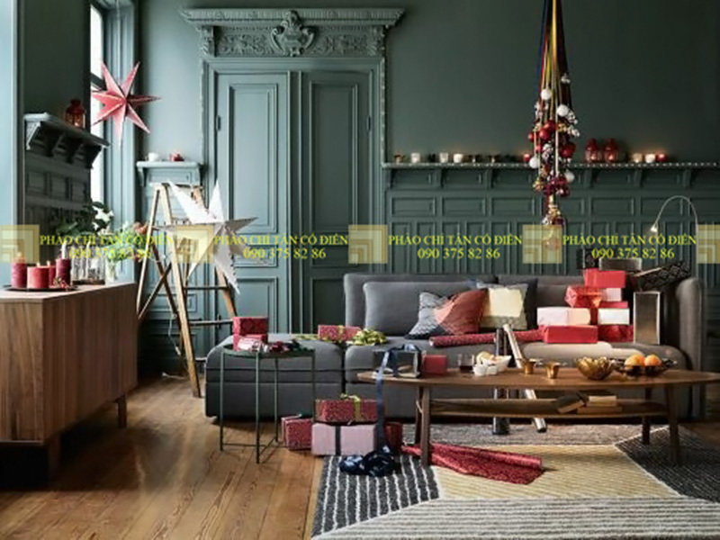 Thiết kế nội thất phong cách cổ điển trường phái ấn tượng 2