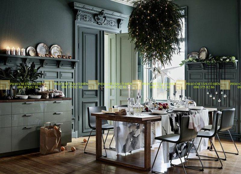 Thiết kế nội thất phong cách cổ điển trường phái ấn tượng 4