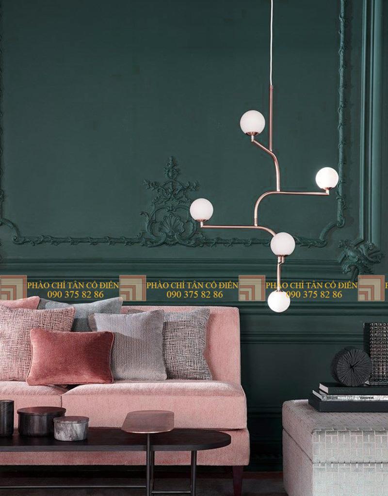 Thiết kế nội thất phong cách cổ điển trường phái ấn tượng 5