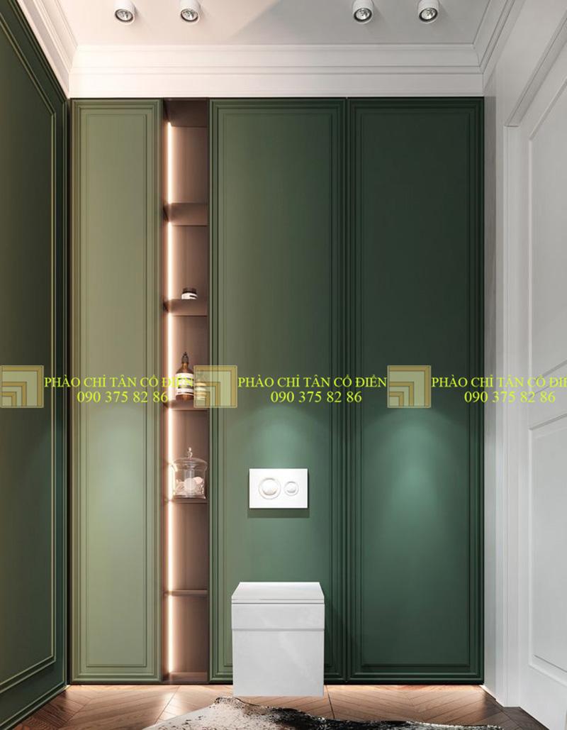 Thiết kế nội thất phong cách cổ điển trường phái ấn tượng 6